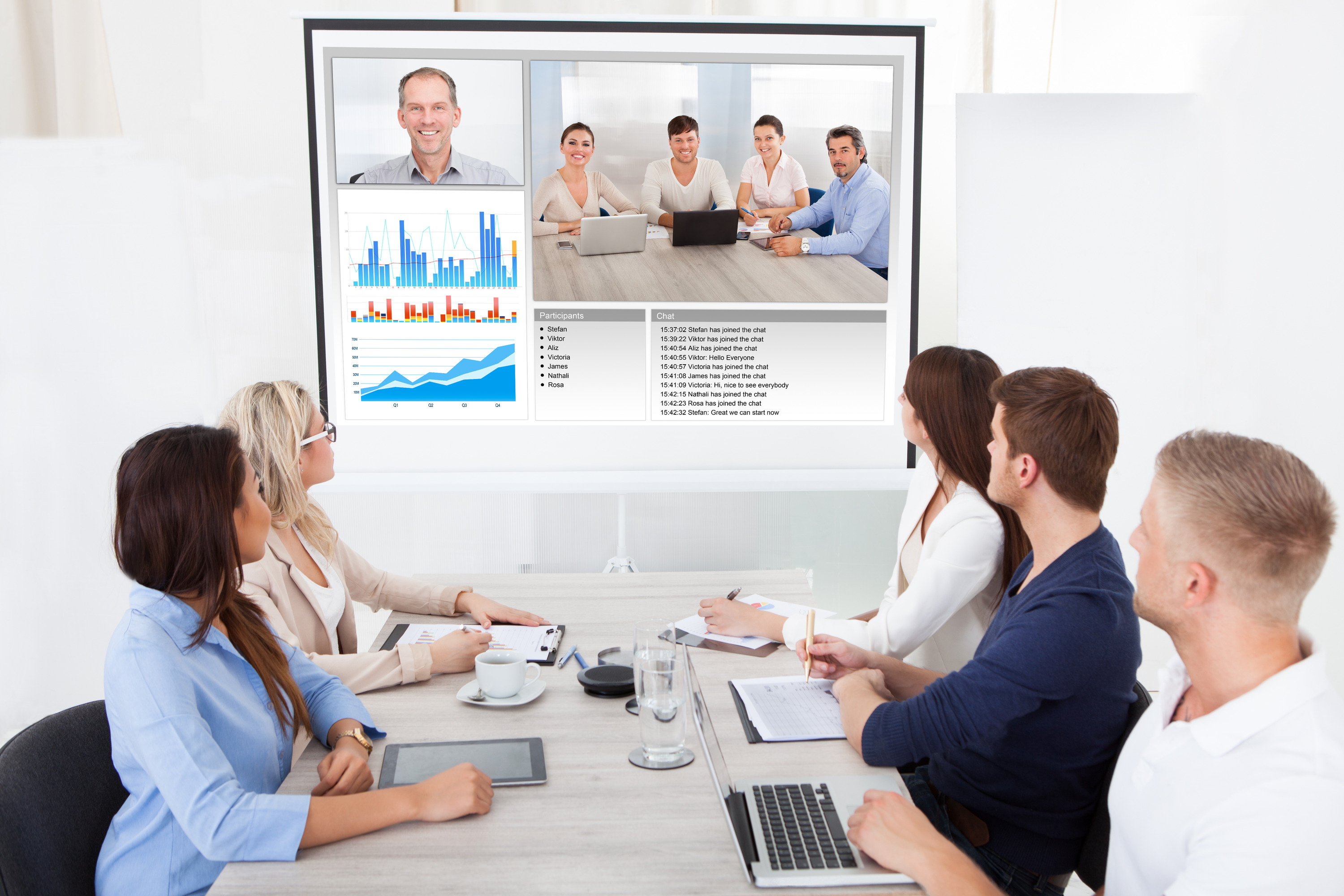 We do Video Conferencing